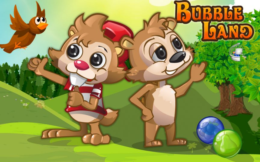 Play bubble land