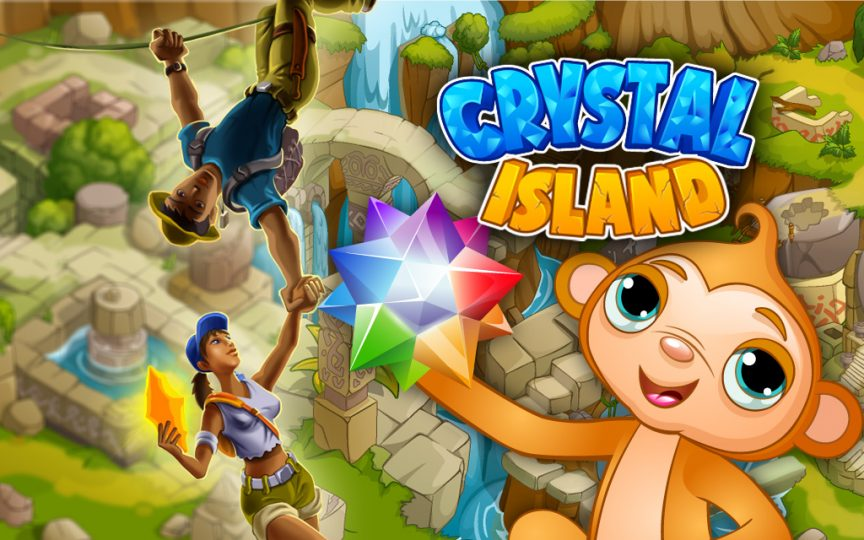 Play crystal island