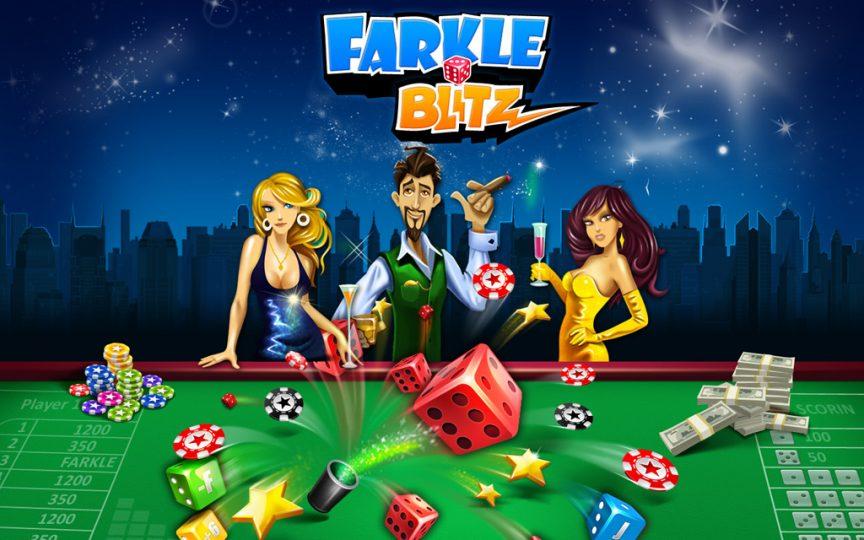 Play Farkle Blitz