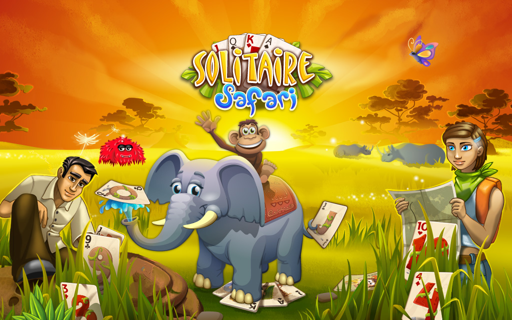 Play solitaire safari