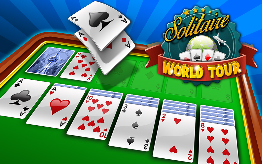 Play Solitaire World Tour