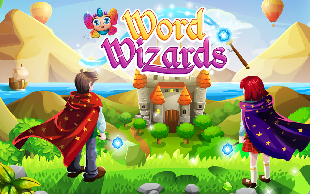 Play word wizards
